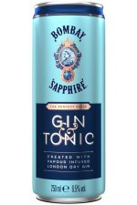 Bombay Saphire Gin Tonic 12X25CL