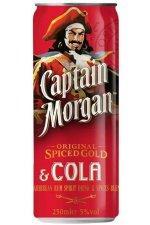 Captain Morgan Cola 12X25CL