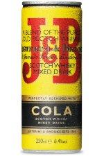 J&B Whiskey Cola 12X25CL