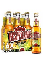 Desperados Bier-Tequila 5,9% 6x33CL