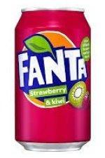 Fanta Strawberry&Kiwi 24x33CL