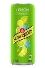 schweppes lemon 24x33cl blik