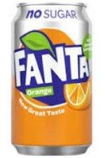 Fanta Orange Zero 24x33CL