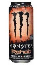 Monster Rehab Peach 12x50CL
