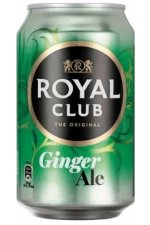 Royal Club Ginger Ale 24x33CL