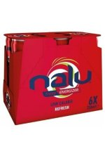 Nalu Red Low Calorie Refresh 6x25cl