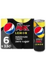 Pepsi Max Lemon 6x33CL