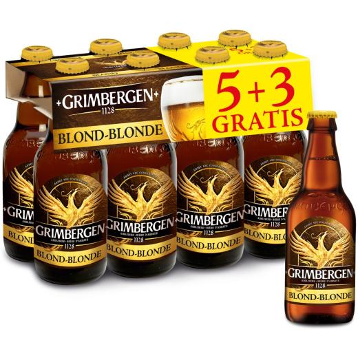 Grimbergen Blond 8x33cl
