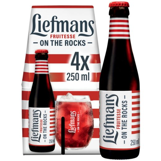 Liefmans Fruitesse fruitbier 4x25cl